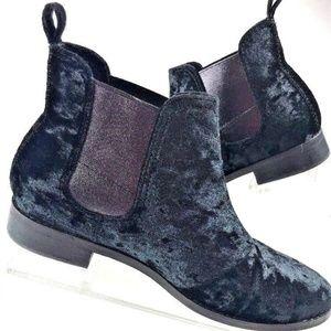 Toms Velvet  Gore Panels ella Novelty Textile Boot